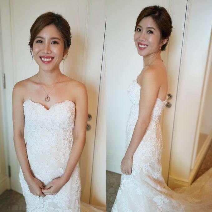 Bride XinYi ❤️ by Shino Makeup & Hairstyling - 004