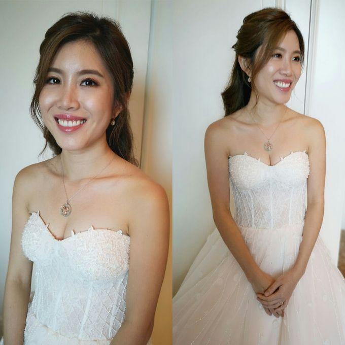Bride XinYi ❤️ by Shino Makeup & Hairstyling - 002