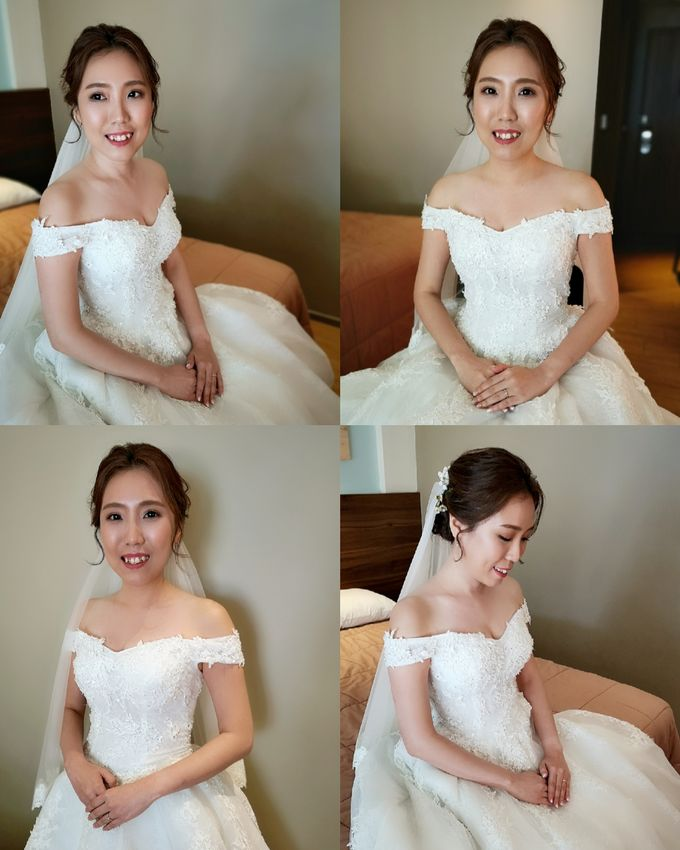 Bride Rachel ❤️ by Shino Makeup & Hairstyling - 002