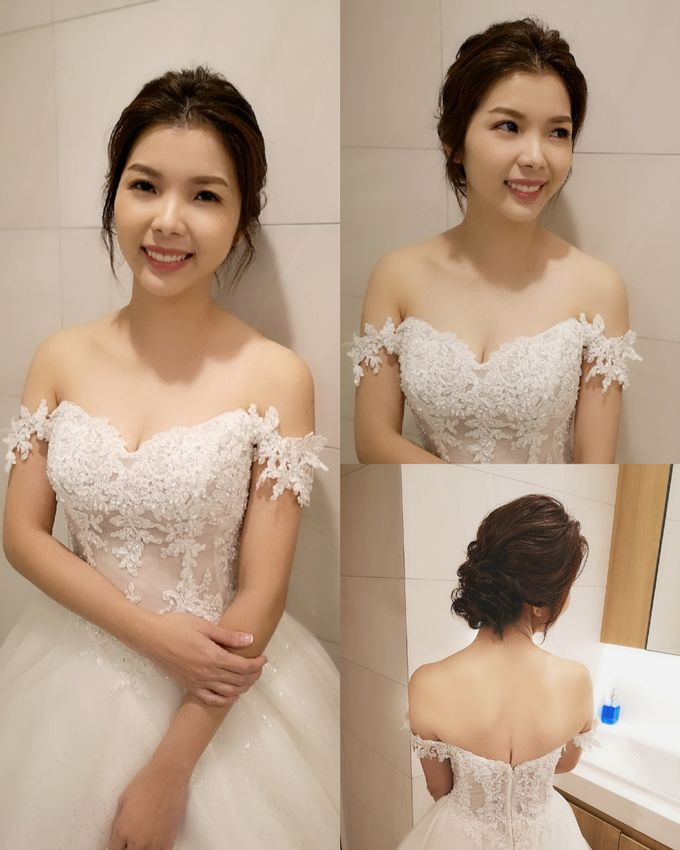 Bride Charlotte ❤️ by Shino Makeup & Hairstyling - 002