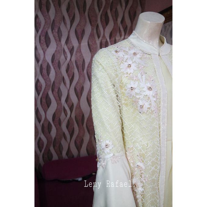 Gown Muslim by Leny Rafael Bride - 005