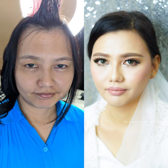 Before And After by Natasya Putri Makeup Artist - 005