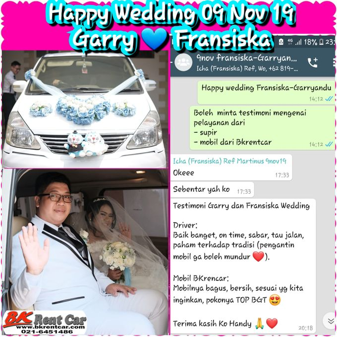 Happy Wedding 9nov19 Garry  by BKRENTCAR - 001