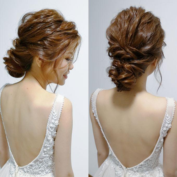 Hairdos  by Shino Makeup & Hairstyling - 004
