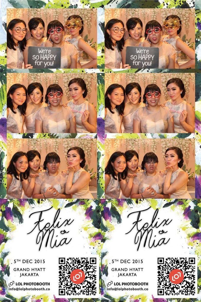 Wedding of Felix & Mia by lolphotobooth.co - 003
