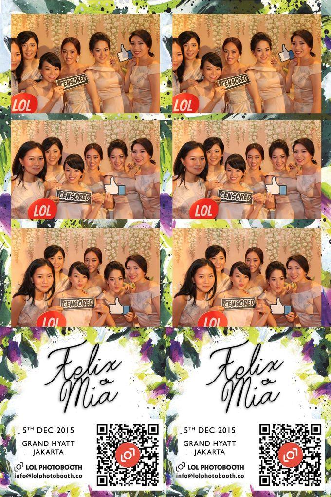 Wedding of Felix & Mia by lolphotobooth.co - 004