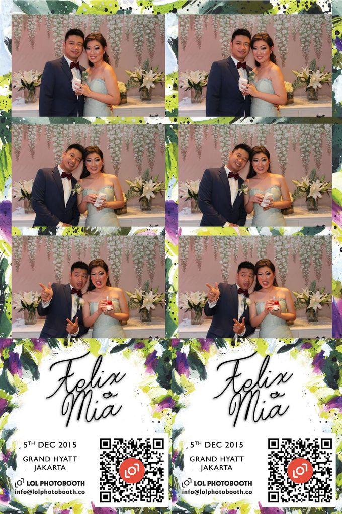 Wedding of Felix & Mia by lolphotobooth.co - 002
