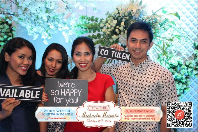Wedding of M&M by lolphotobooth.co - 010