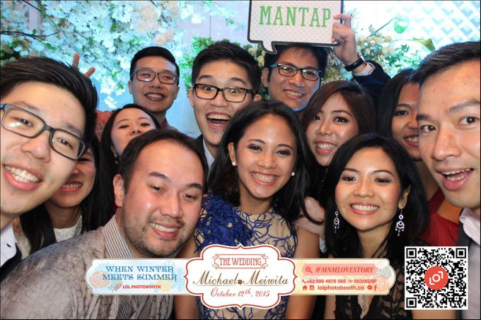 Wedding of M&M by lolphotobooth.co - 005
