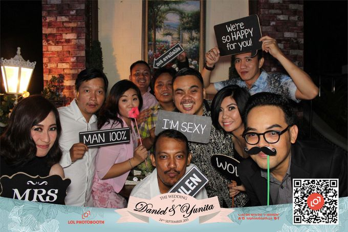 Wedding of D&Y by lolphotobooth.co - 007