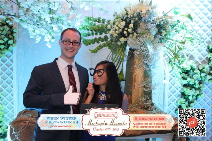 Wedding of M&M by lolphotobooth.co - 008