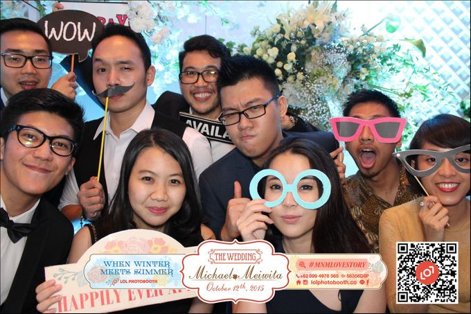 Wedding of M&M by lolphotobooth.co - 007