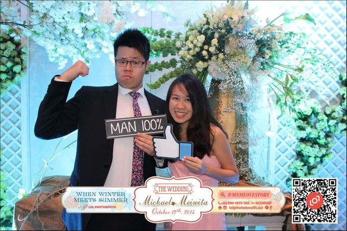 Wedding of M&M by lolphotobooth.co - 006