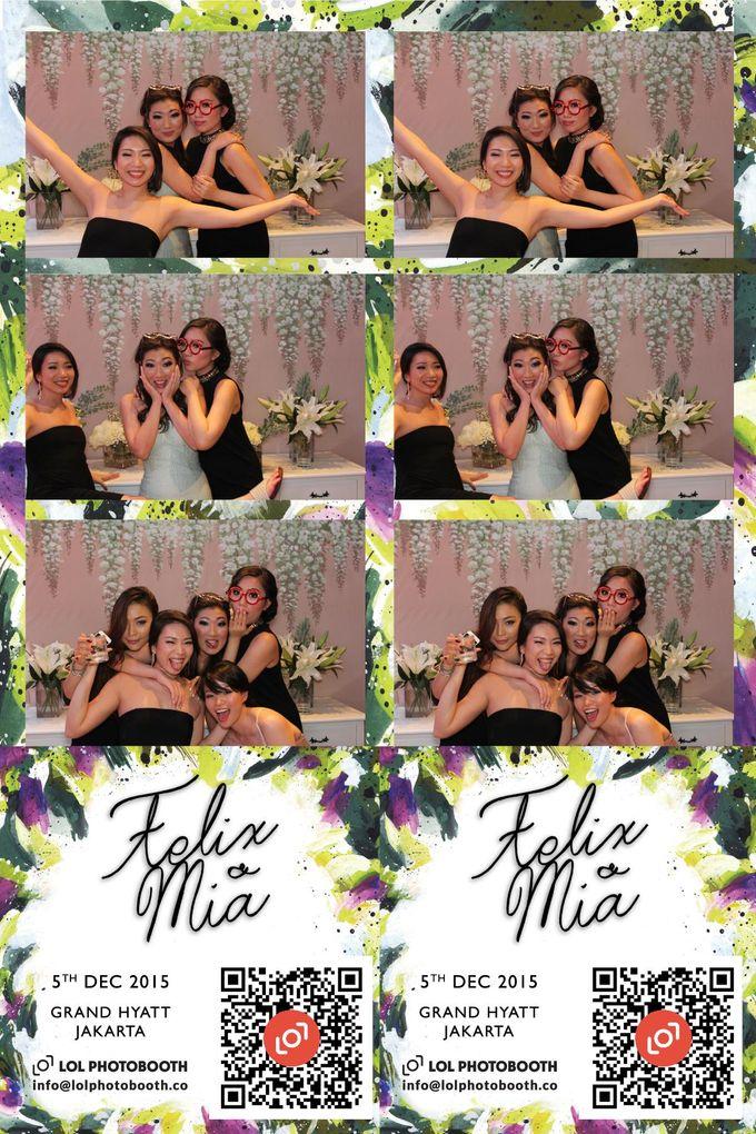 Wedding of Felix & Mia by lolphotobooth.co - 001