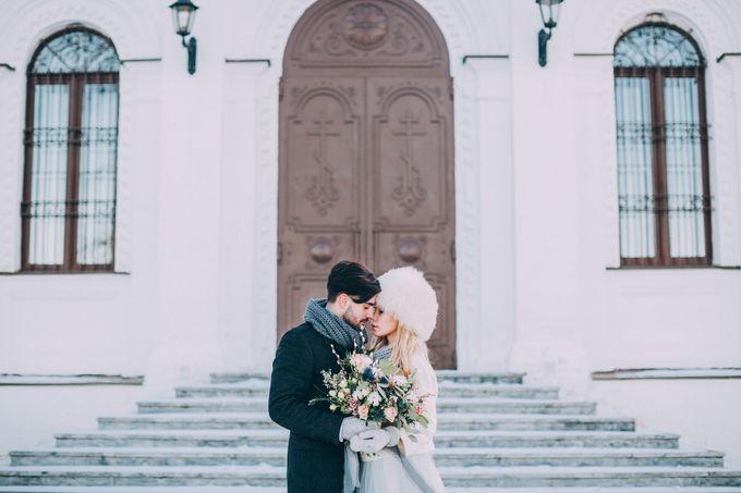 Wedding In Gzhel Style by Marina Nazarova Photographer - 043