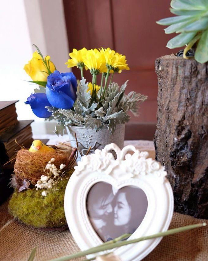 Acara Akad Nikah Dan Resepsi Pernikahan Gema Agil by Catalina Flora - 003