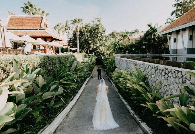 Phuket Beach Wedding of Lisa & William by Hipster Wedding - 011