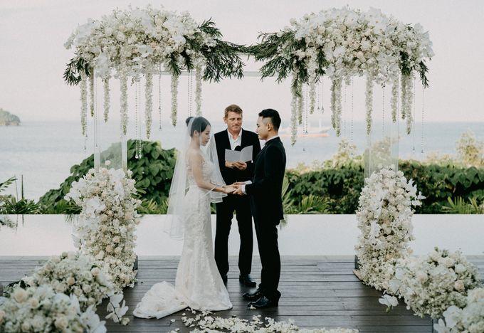 Phuket Beach Wedding of Lisa & William by Hipster Wedding - 021