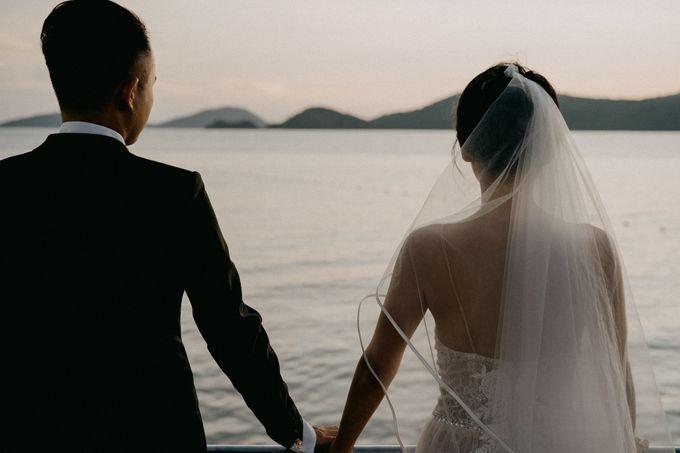 Phuket Beach Wedding of Lisa & William by Hipster Wedding - 025