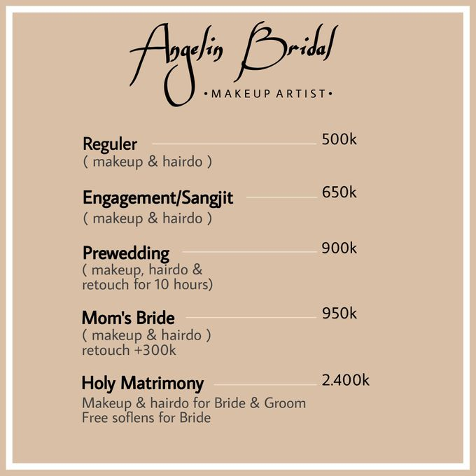 PACKAGE 2021 by AngeLin Bridal - 004