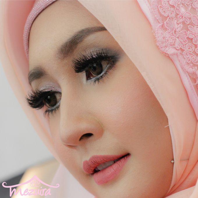 Modern Muslim Bridal by Mezuira MakeUp & Hijab Style - 002