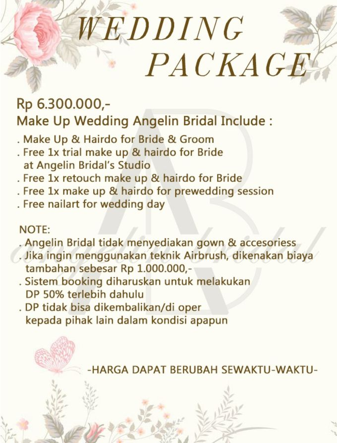 PACKAGE 2021 by AngeLin Bridal - 001