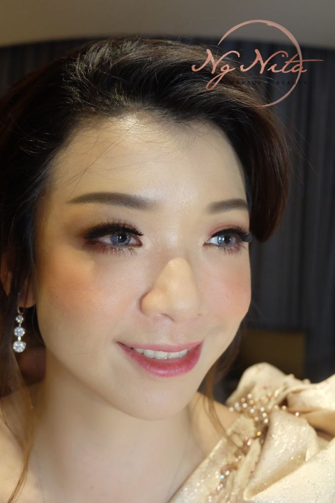 Makeup For Sister's Of The Bride by Makeup by Ng Nita - 003