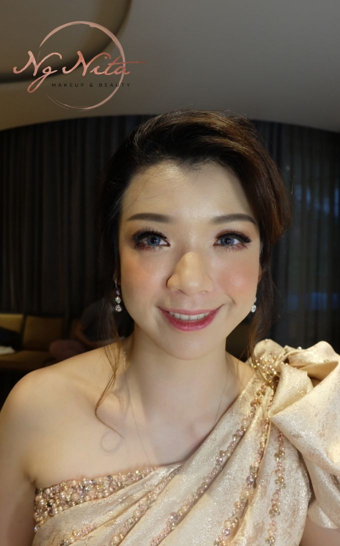 Makeup For Sister's Of The Bride by Makeup by Ng Nita - 001
