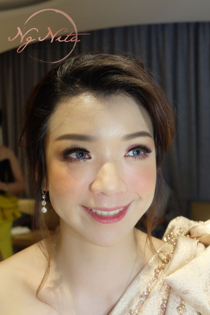 Makeup For Sister's Of The Bride by Makeup by Ng Nita - 002