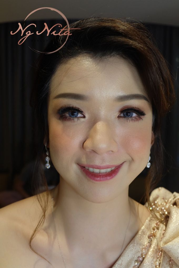 Makeup For Sister's Of The Bride by Makeup by Ng Nita - 004