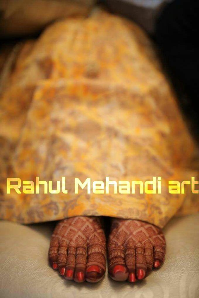 Bridal Booking by Rahul Mehandi Art Agra - 002