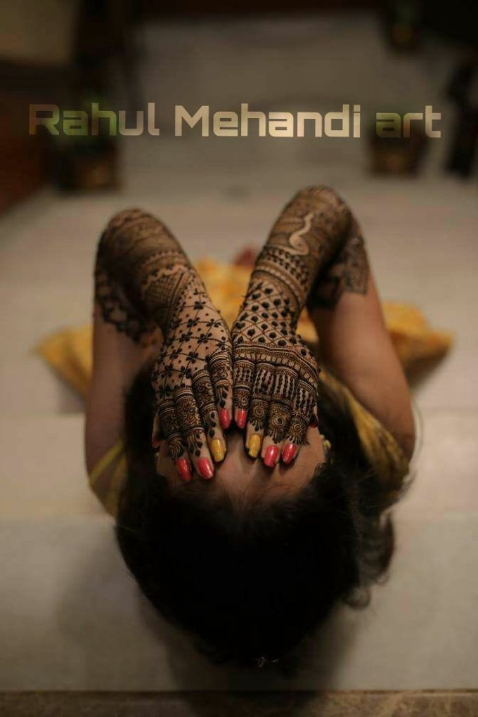 Bridal Booking by Rahul Mehandi Art Agra - 001