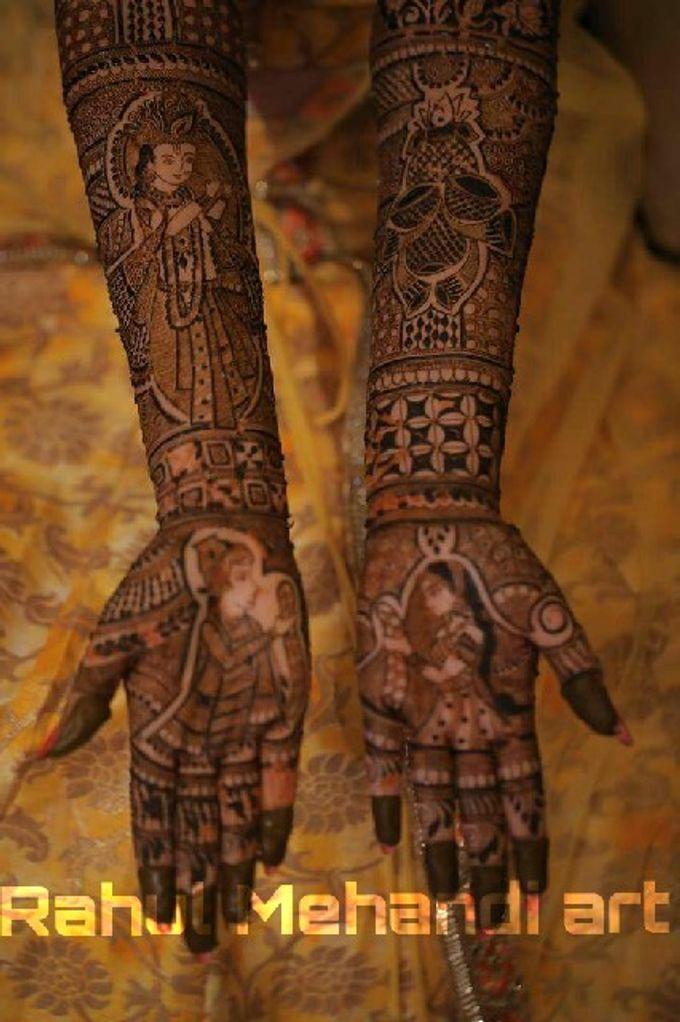 Bridal Booking by Rahul Mehandi Art Agra - 003