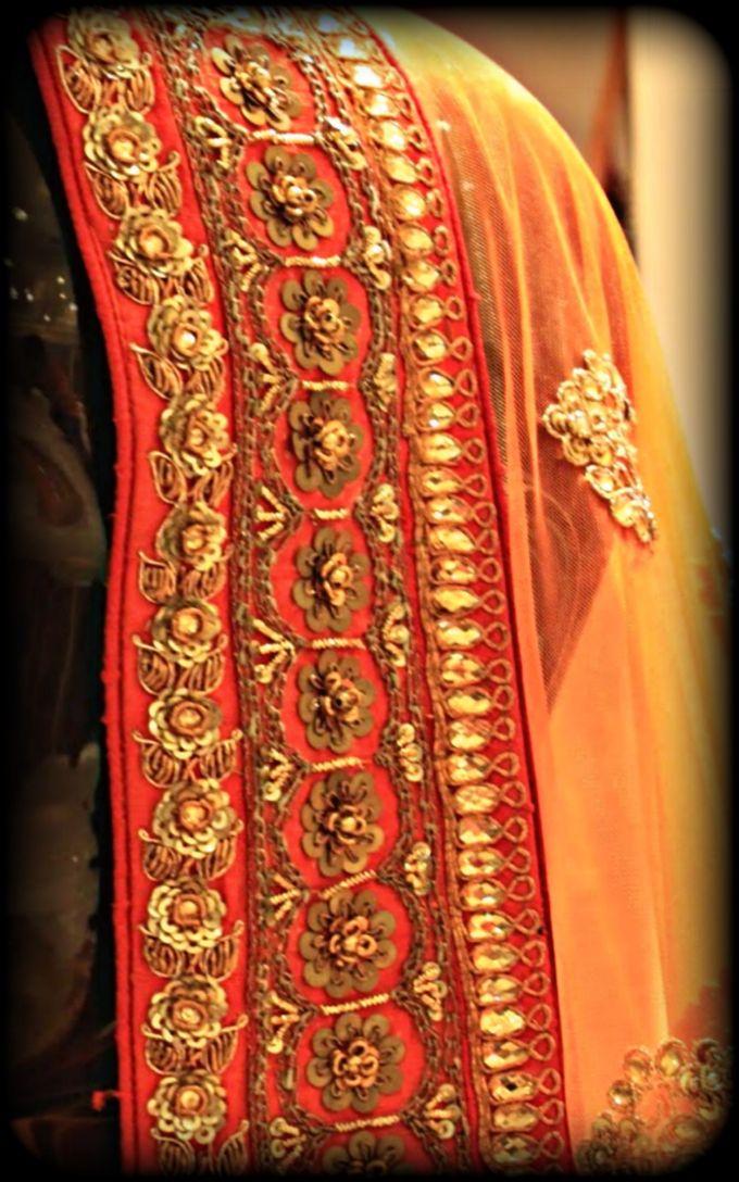 Indian Bridal Wear - LEHENGA / FLOOR GOWN by Vrijvan - 002