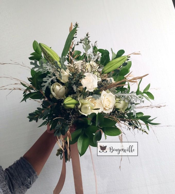 Wedding Bouquet by Bougenville Decoration - 005