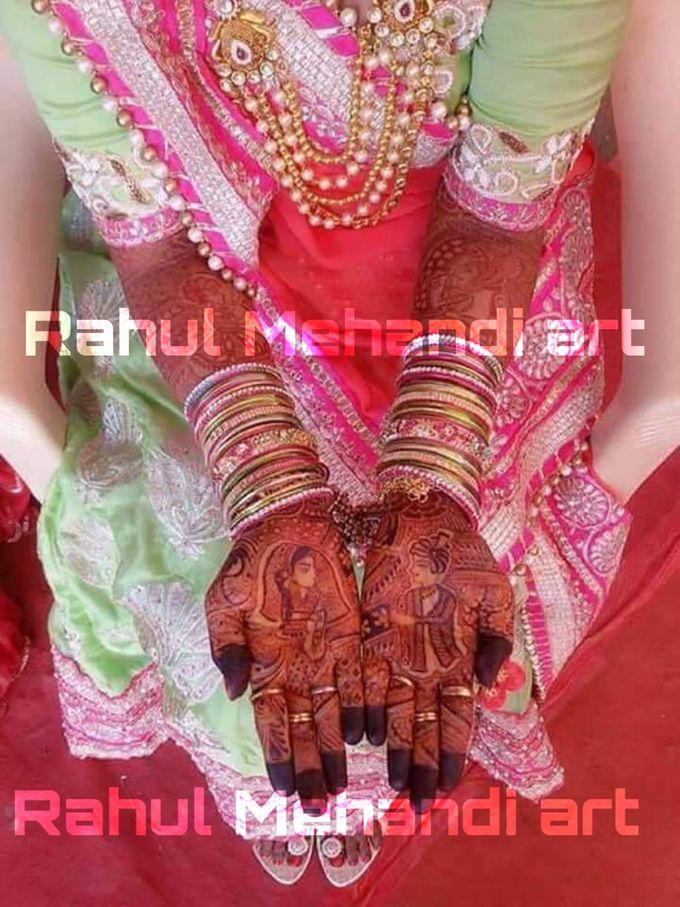 Designer Bridal Mehndi Designs by Rahul Mehandi Art Agra - 005