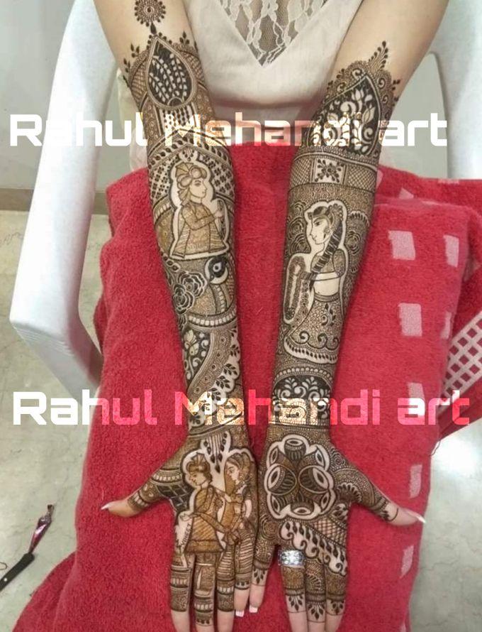 Designer Bridal Mehndi Designs by Rahul Mehandi Art Agra - 006