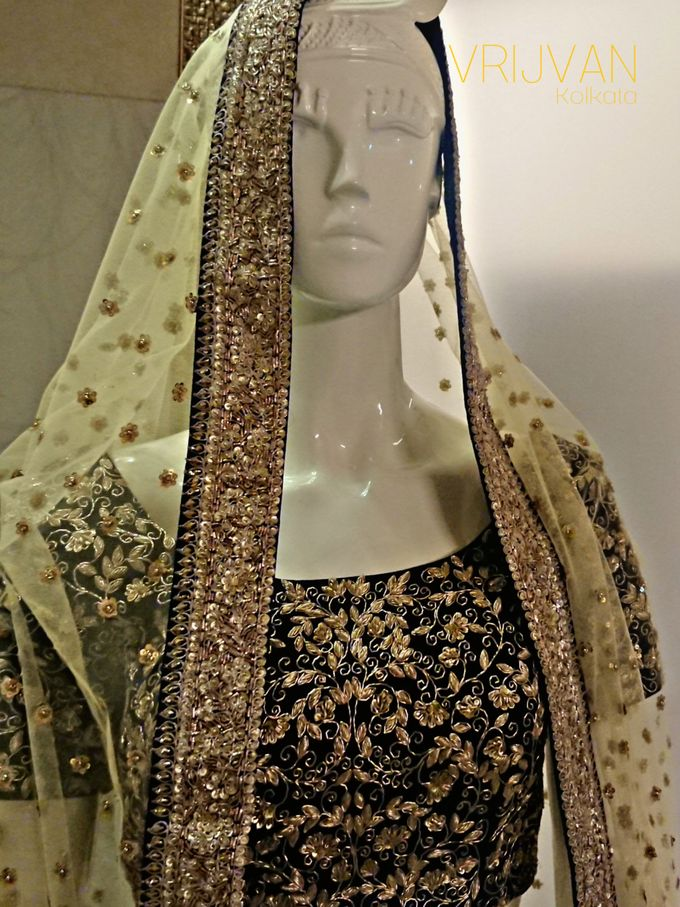 Indian Bridal Wear - LEHENGA / FLOOR GOWN by Vrijvan - 007
