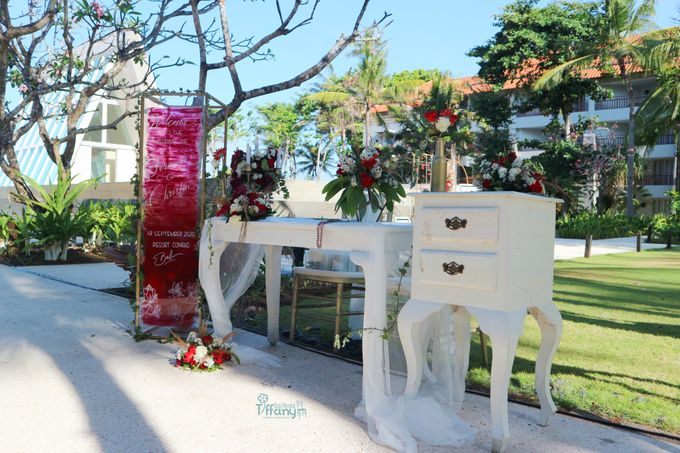 The Wedding Of Fernando & Christin 19.09.2020 by Bali Bless Florist - 007