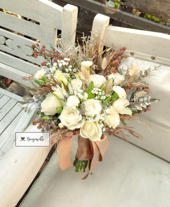 Wedding Bouquet by Bougenville Decoration - 001