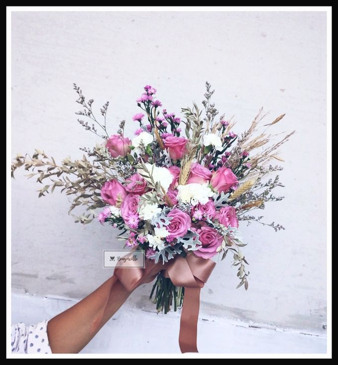 Wedding Bouquet by Bougenville Decoration - 002