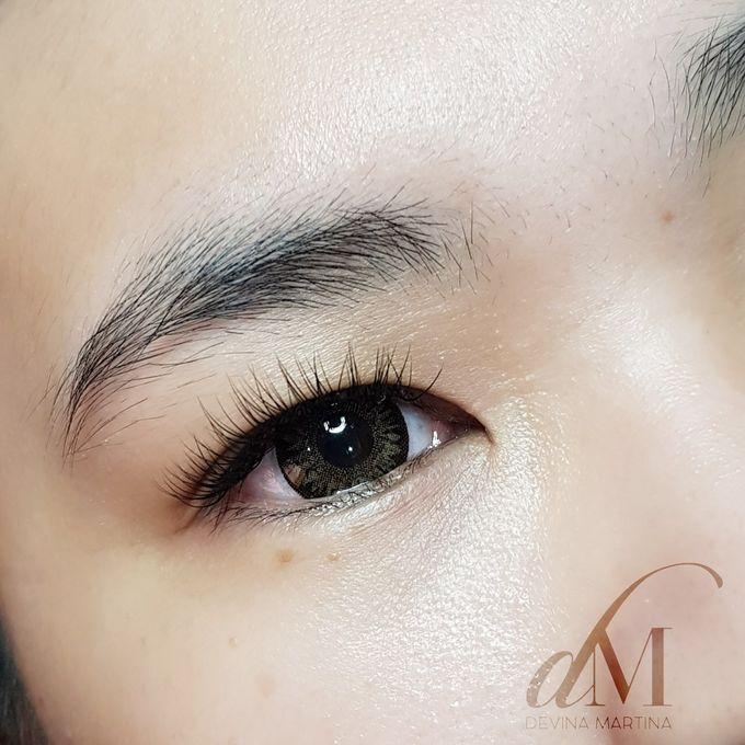 Natural Eyelash Extensions by Devina Martina Sulam Alis - 014