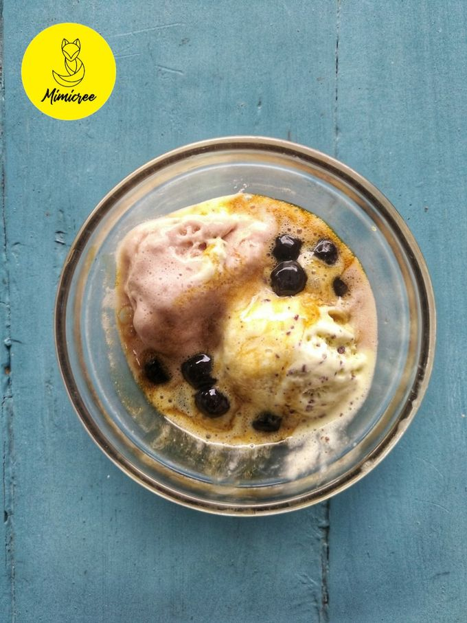Iced Cream Bubble Pearl Tapiocca With Brown Sugar by Keeano Project - 004