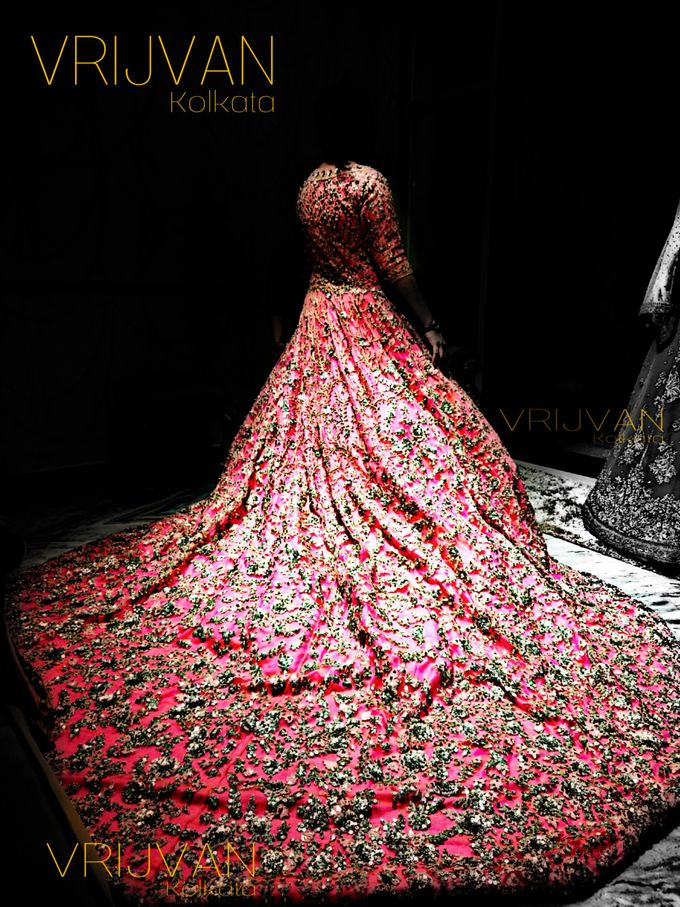 Indian Bridal Wear - LEHENGA / FLOOR GOWN by Vrijvan - 005