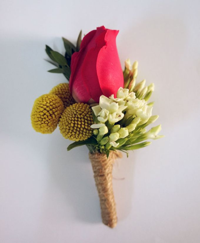Boutonnieres & Corsages by The Olive 3 (S) Pte Ltd - 011