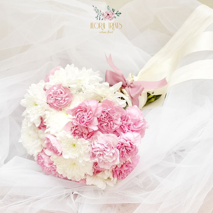 Pre-wedding Bouquets by Floral Treats - 002