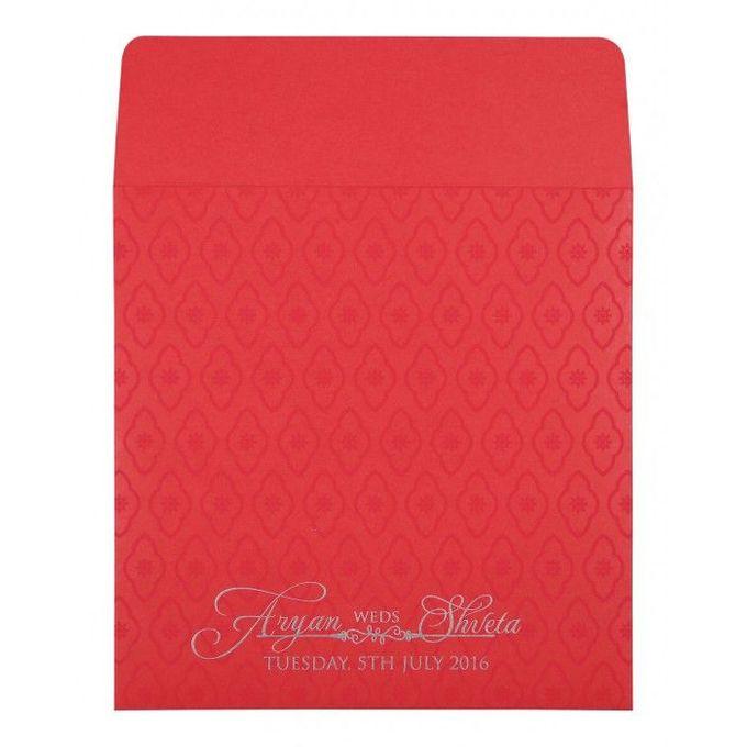 Wedding invitation design for Aryan & Shewta wedding by 123WeddingCards - 004