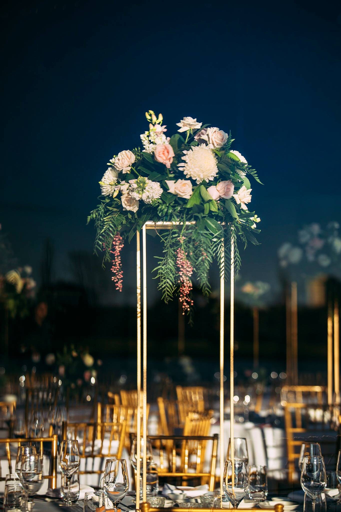 A modern whimsical wedding for VP&TP by Pink Stardust Events - 002