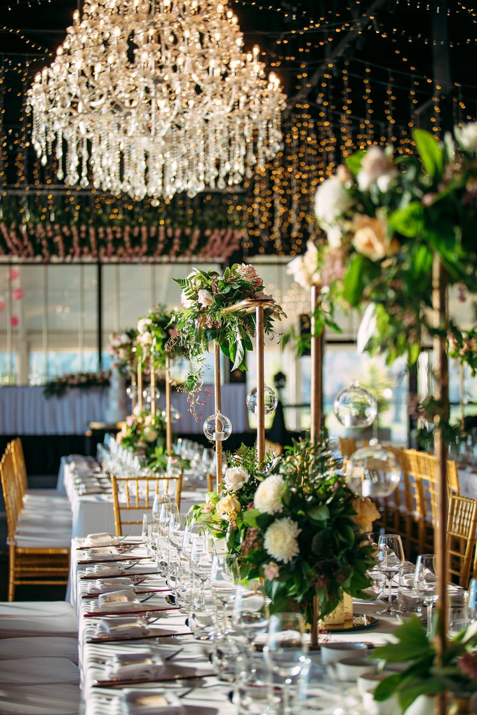 A modern whimsical wedding for VP&TP by Pink Stardust Events - 007