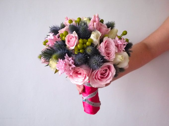 Round Bouquet Collection by Il Fiore - 009